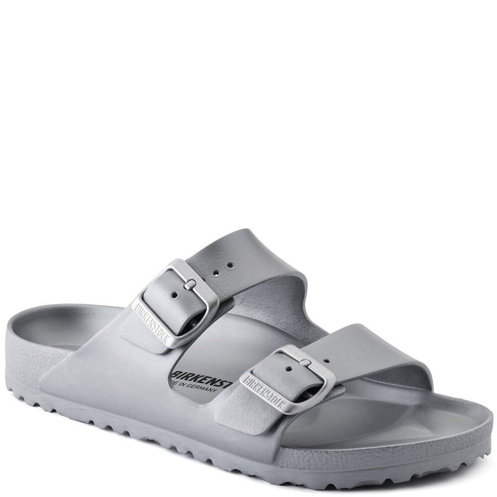 Image for Birkenstock Women's Arizona EVA Sandals - Silver from elliottsboots