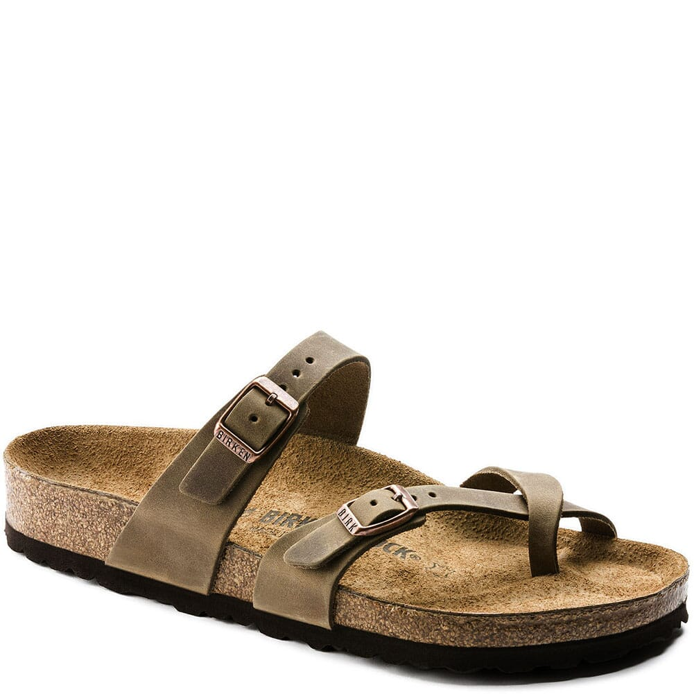 Image for Birkenstock Women's Mayari Sandals - Tobacco Brown from bootbay