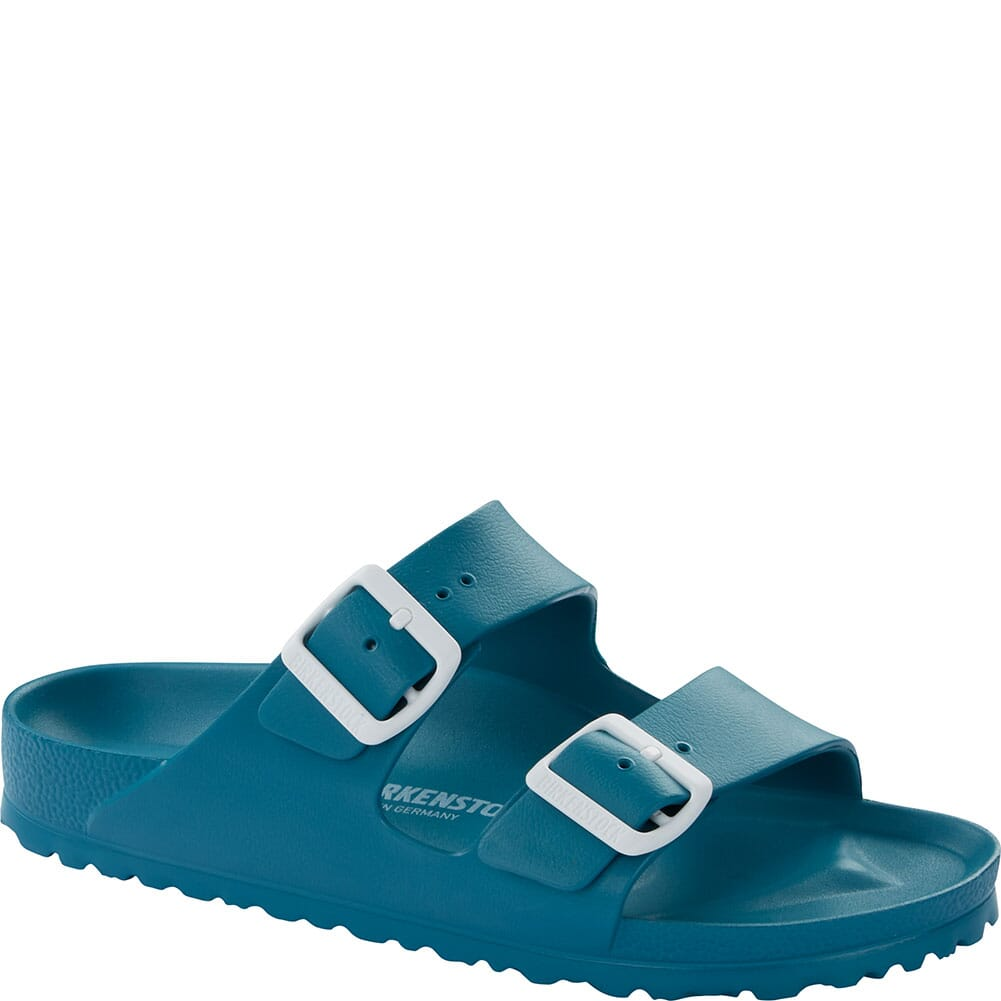 Image for Birkenstock Women's Arizona EVA Sandals - Turquoise from elliottsboots