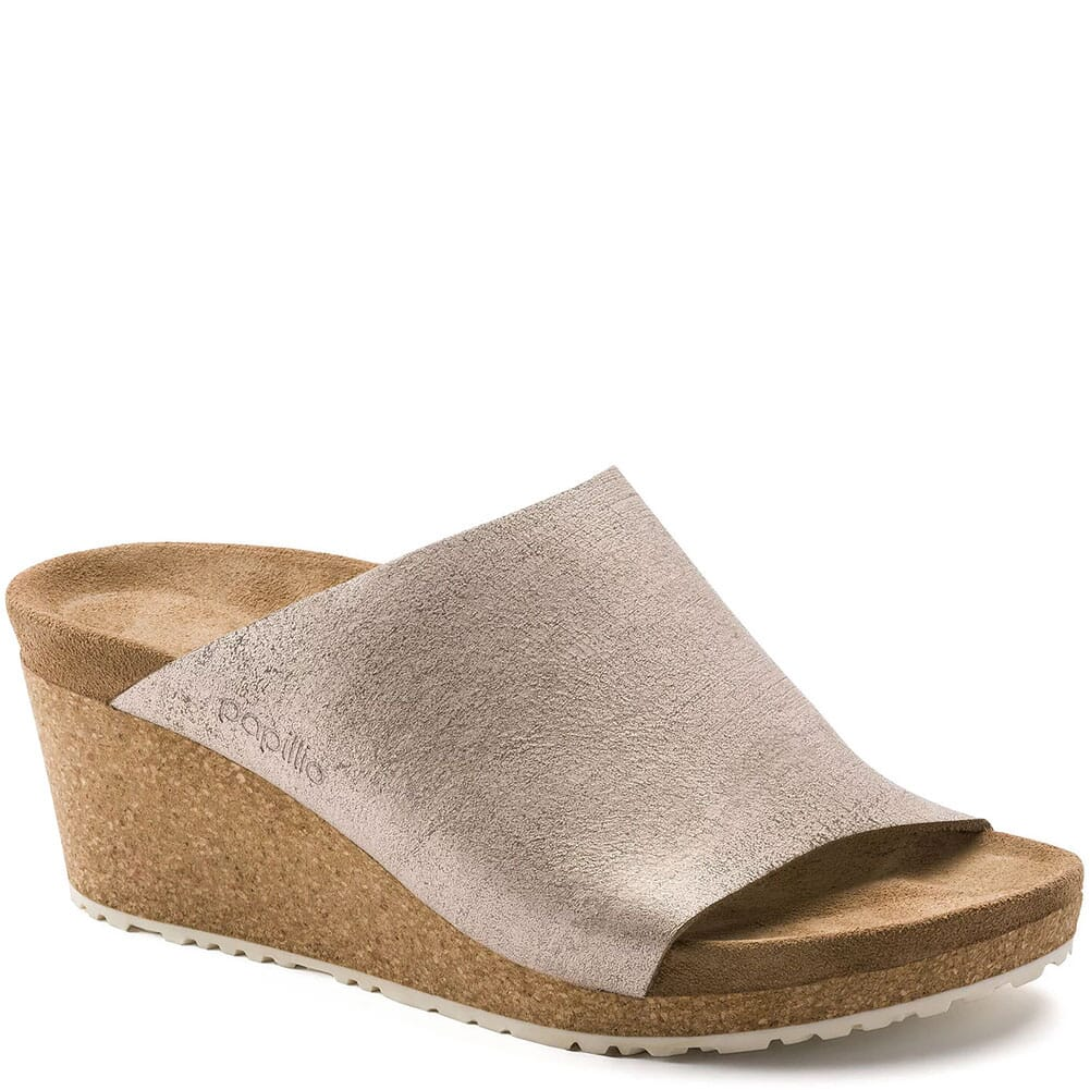 Image for Birkenstock Women's Namica Suede Sandals - Rose Gold from elliottsboots