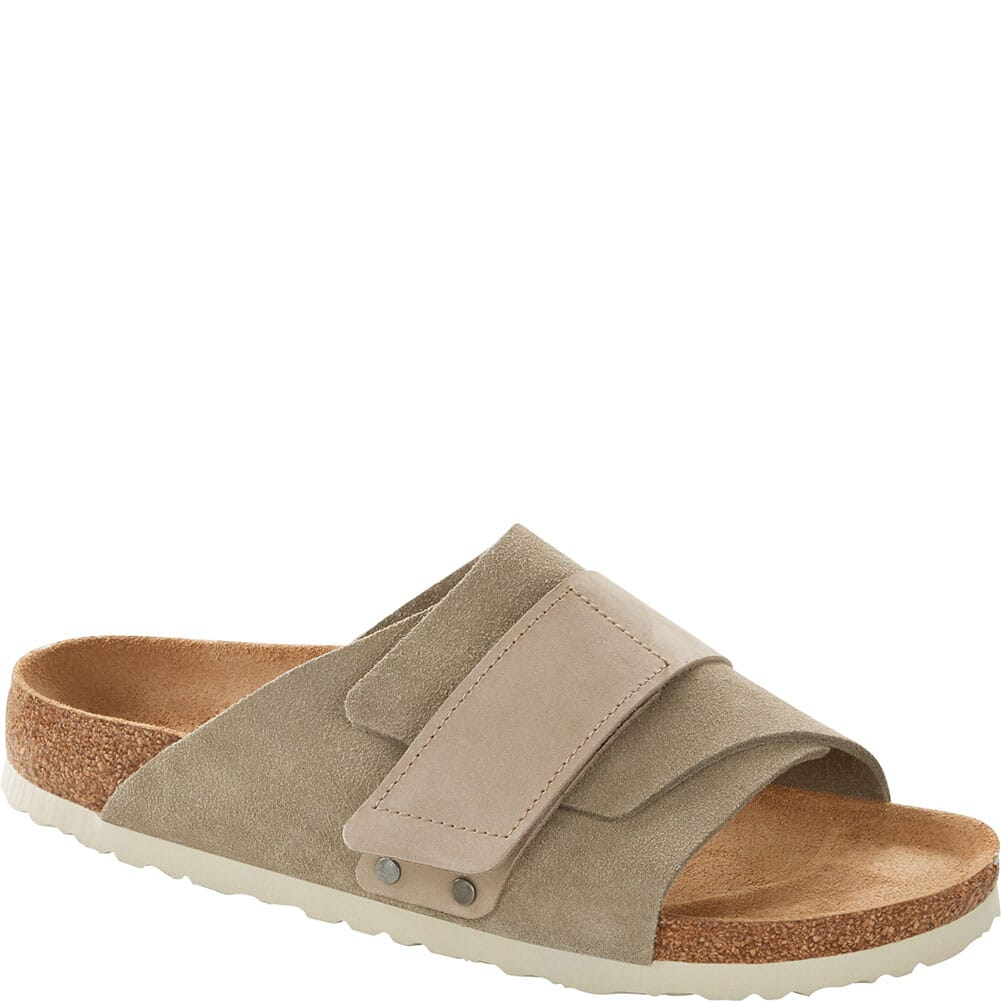 Image for Birkenstock Women's Kyoto Sandals - Taupe from elliottsboots