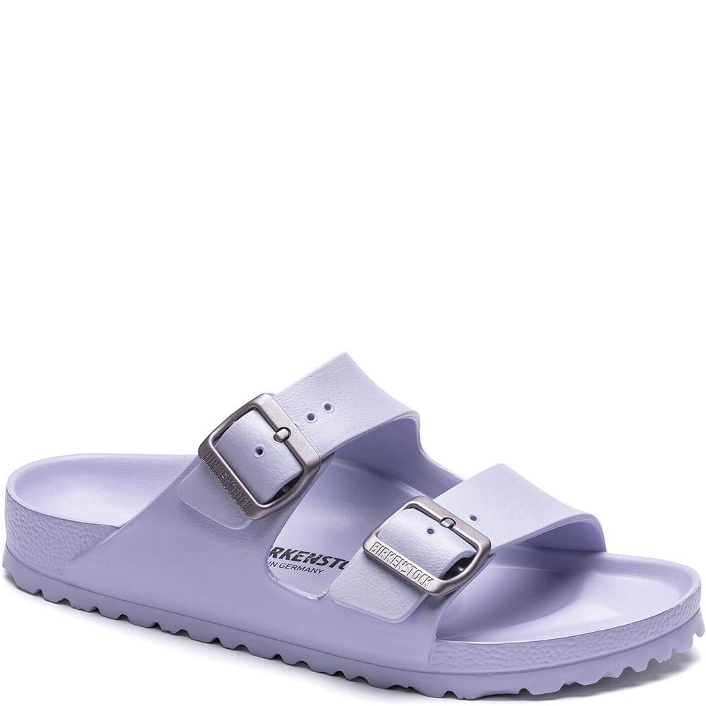 Image for Birkenstock Women's Arizona Essentials Sandals - Purple Fog from bootbay