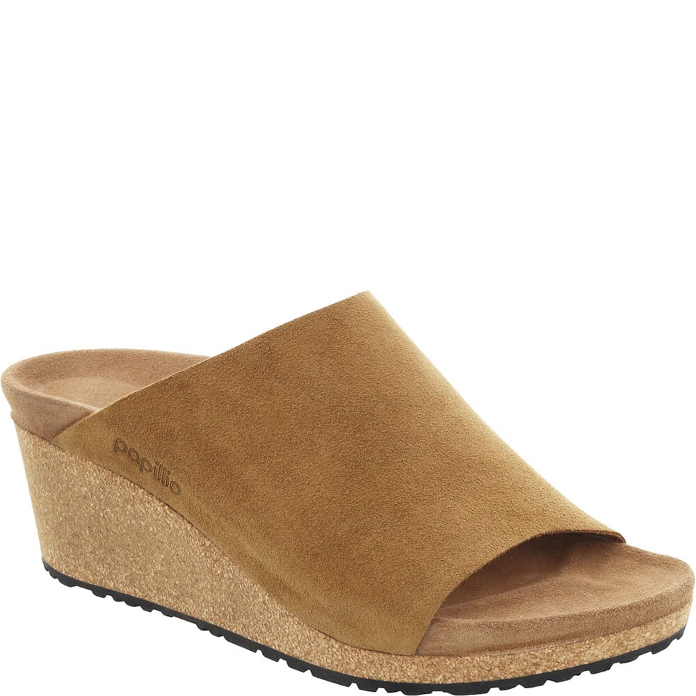 Image for Birkenstock Women's Namica Suede Leather Sandals - Tea from bootbay
