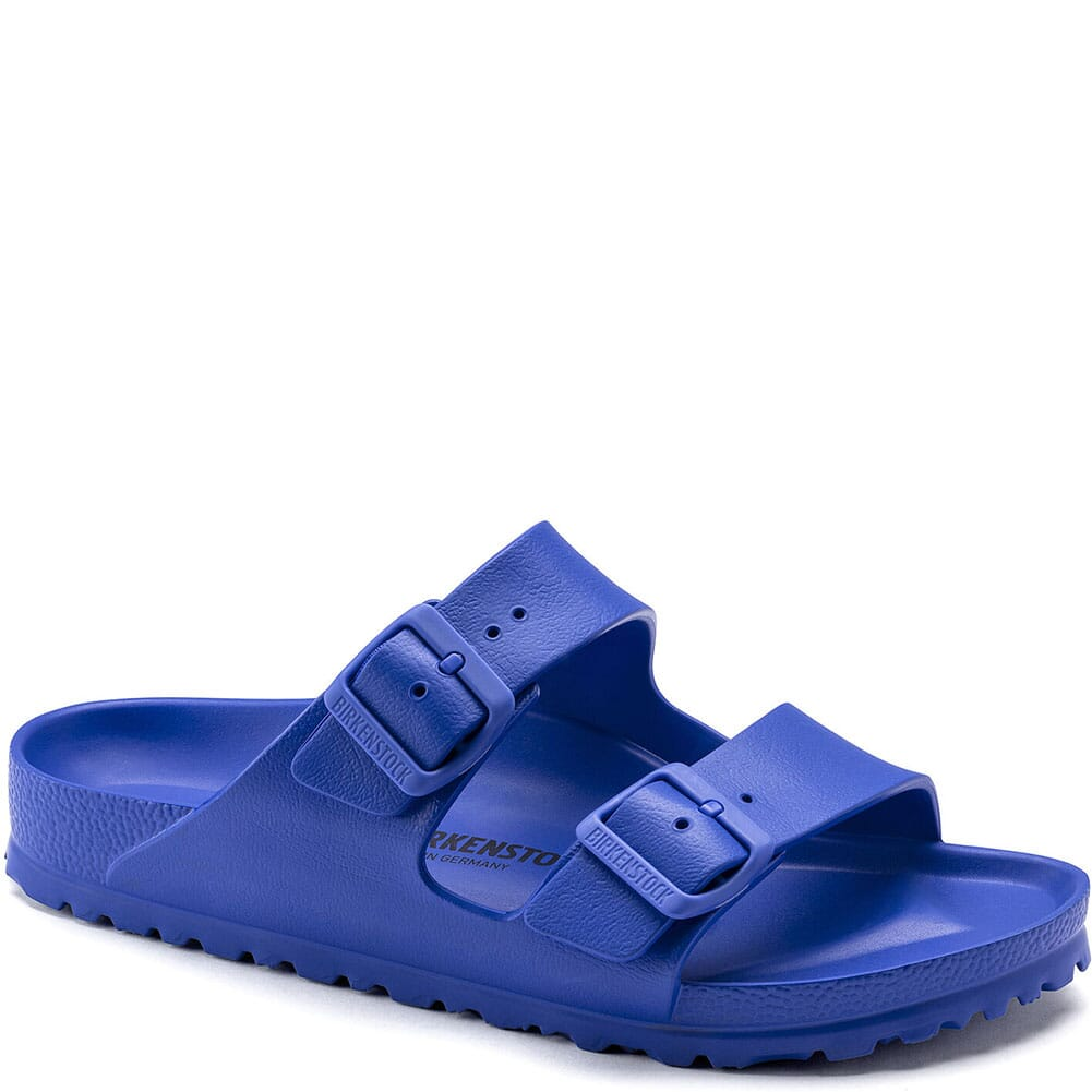 Image for Birkenstock Women's Arizona Essentials Sandals - Ultra Blue from bootbay