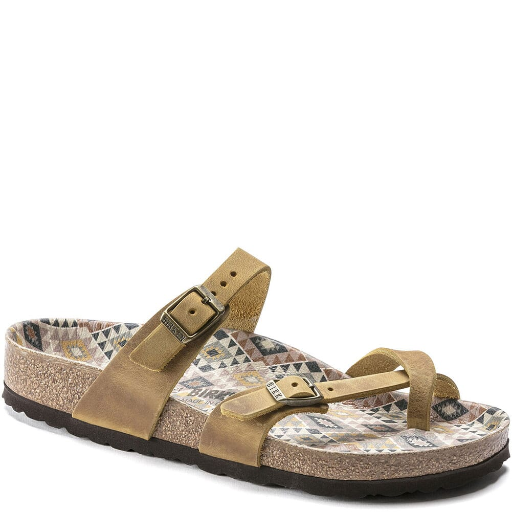 Image for Birkenstock Women's Mayari Sandals - Ethno Ochre from elliottsboots