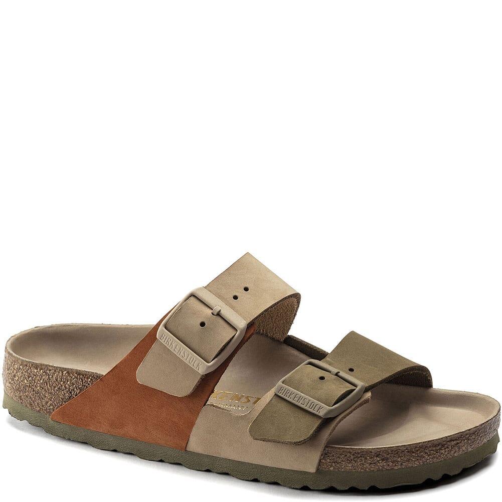 Image for Birkenstock Women's Arizona Split Sandals - Sandcastle/Faded Khaki from elliottsboots