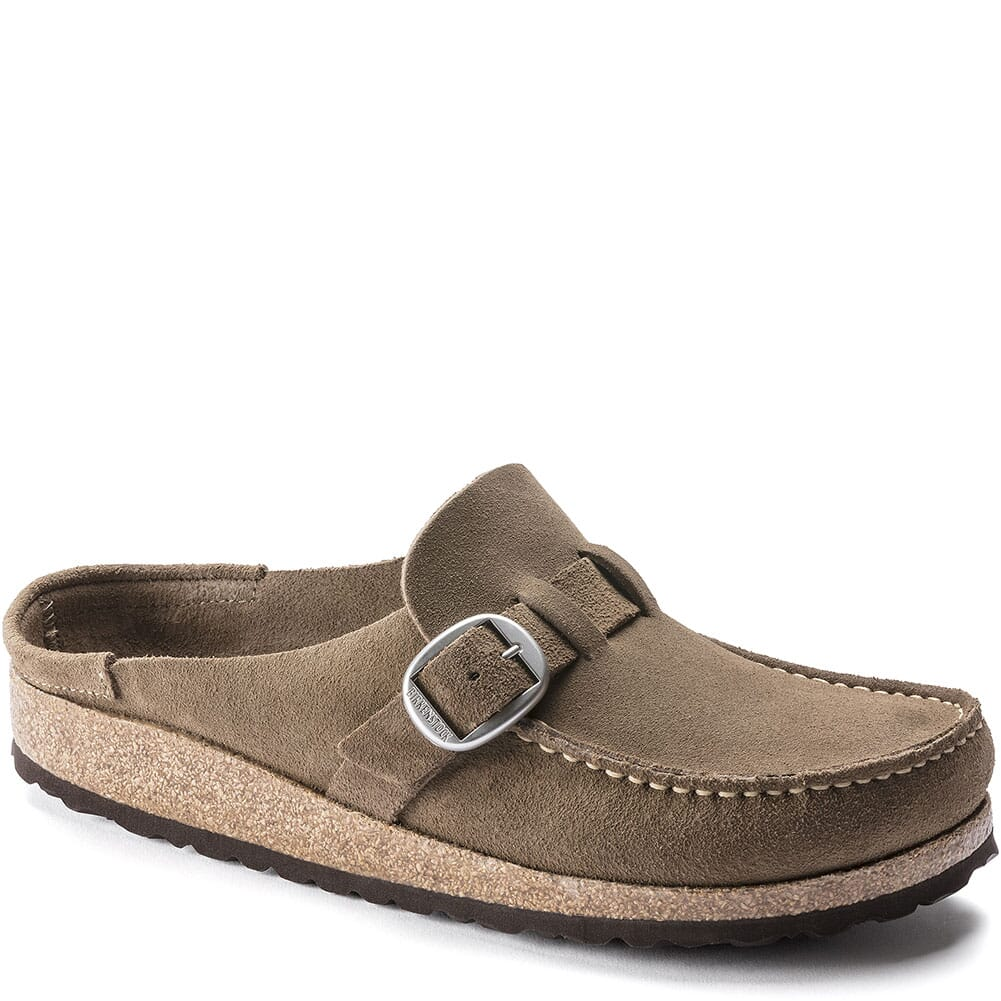Image for Birkenstock Women's Buckley Shearling Slip Ons - Gray Taupe from bootbay