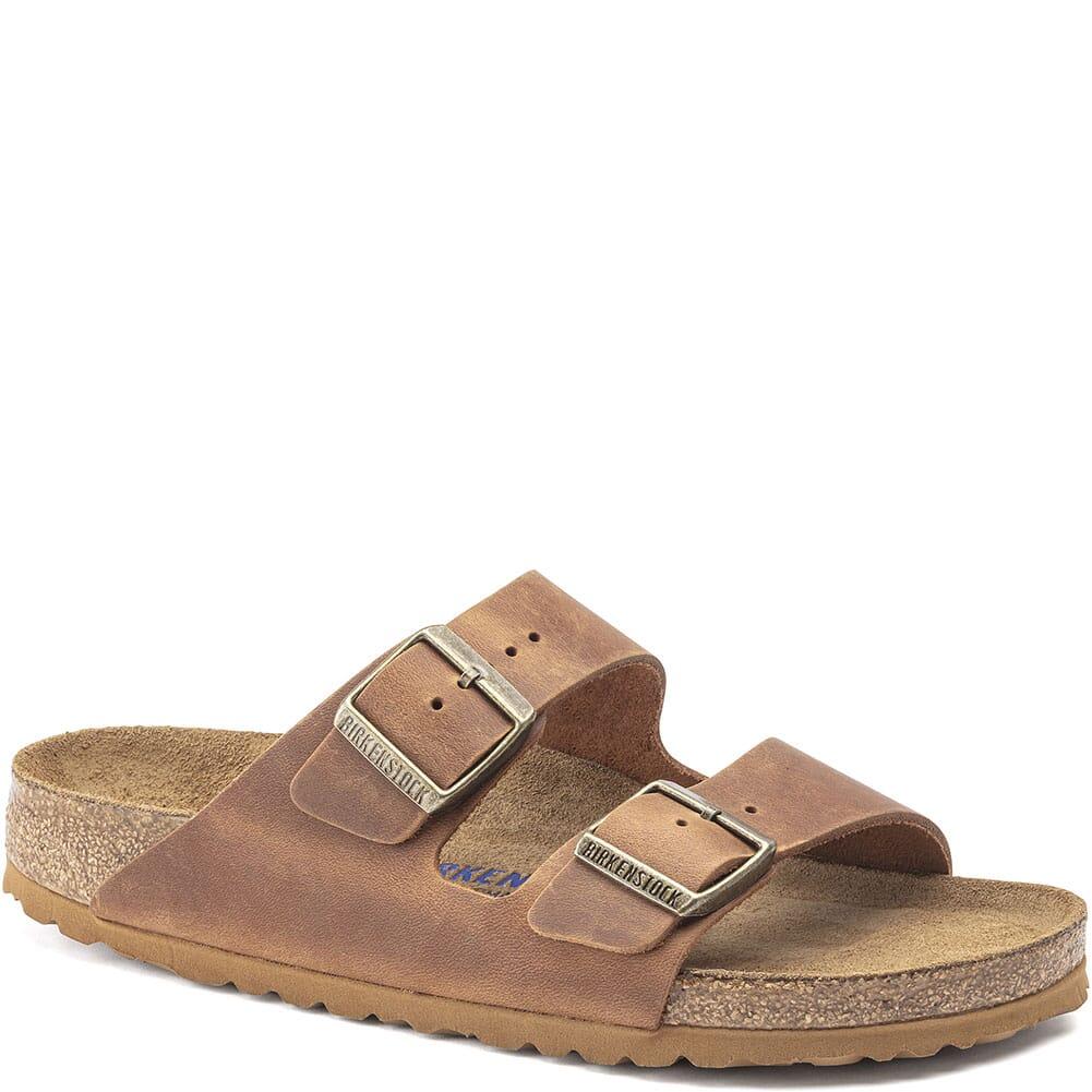 Image for Birkenstock Women's Arizona Sandals - Cognac from elliottsboots