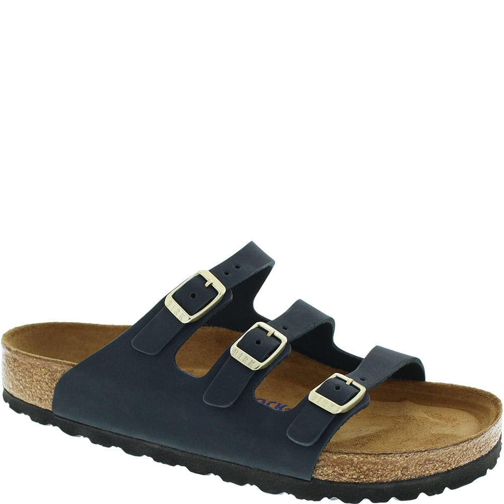 Image for Birkenstock Women's Florida Soft Footbed Sandals - Midnight from bootbay