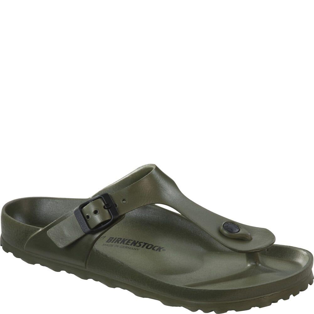Image for Birkenstock Women's Gizeh EVA Sandals - Khaki from bootbay