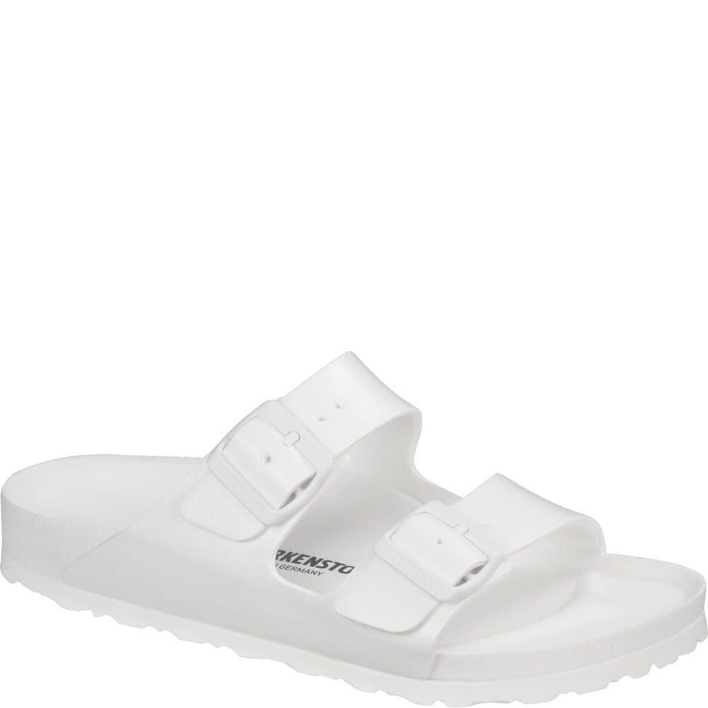 Image for Birkenstock Women's Arizona EVA Sandals - White from bootbay