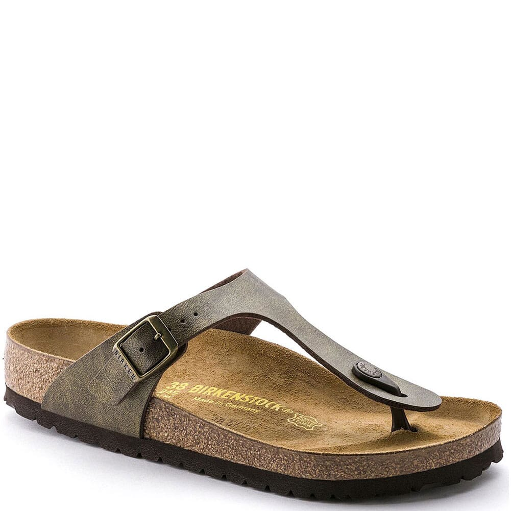 Image for Birkenstock Women's Gizeh Sandals - Golden Brown from bootbay