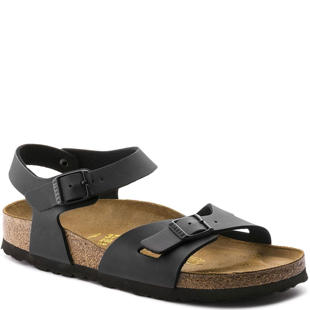 Image for Birkenstock Women's Rio Sandals - Black from bootbay