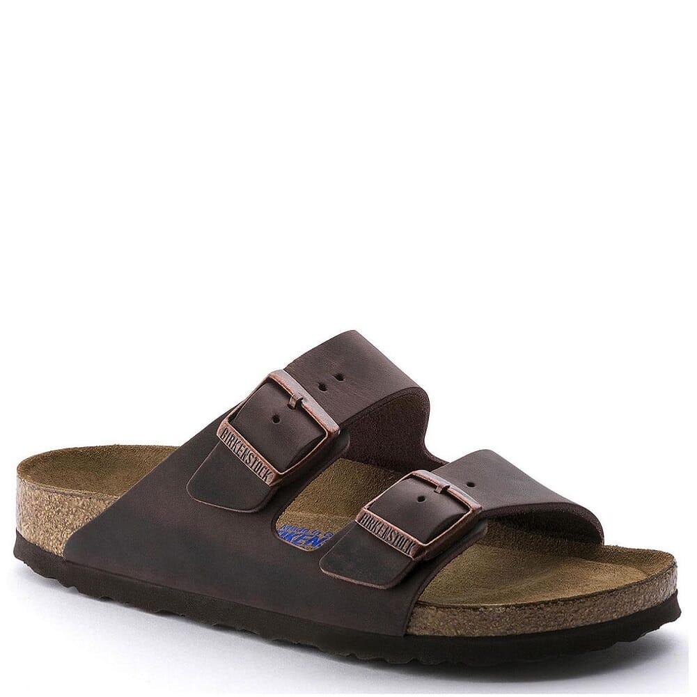 Image for Birkenstock Men's Arizona Sandals - Habana Oiled from bootbay