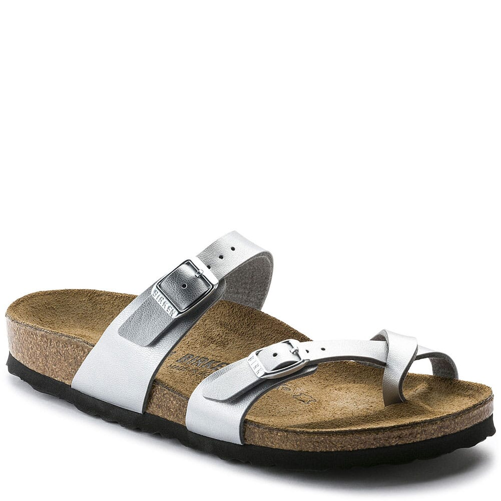 Image for Birkenstock Women's Mayari Sandals - Silver from bootbay