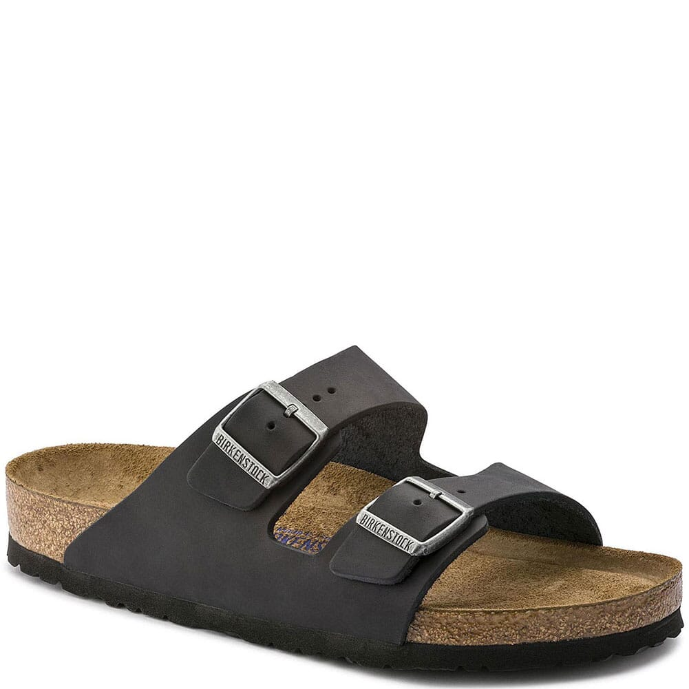 Image for Birkenstock Unisex Arizona Soft Footbed Sandals - Black from bootbay