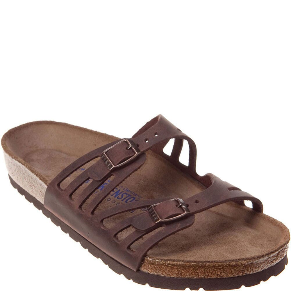 Image for Birkenstock Women's Granada Sandals - Habana Leather from bootbay