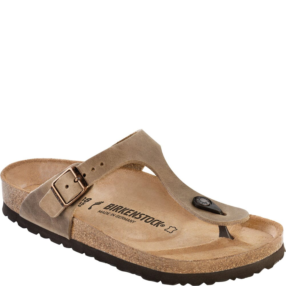 Image for Birkenstock Women's Gizeh Sandals - Tobacco from bootbay