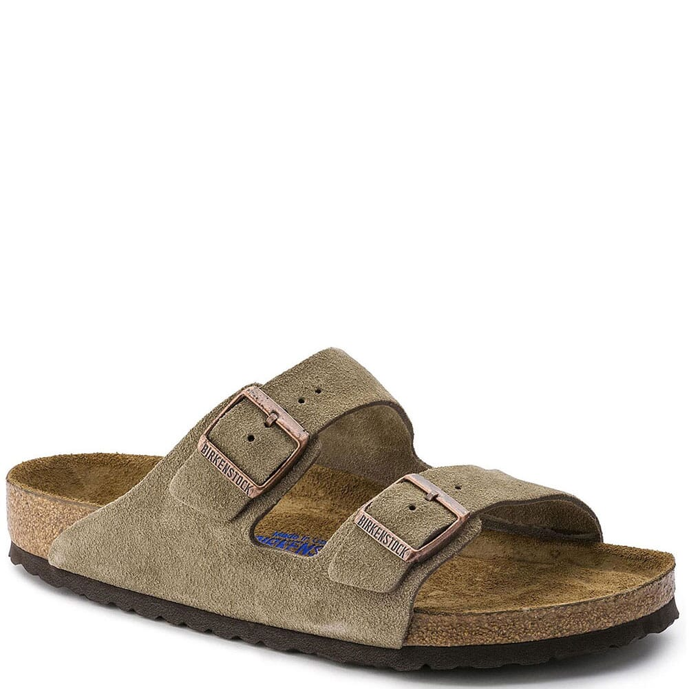 Image for Birkenstock Men's Arizona Sandals - Taupe from bootbay