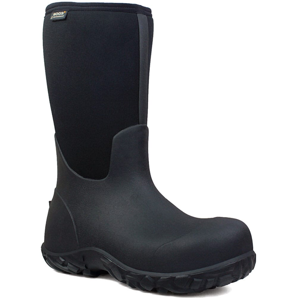 Image for Bogs Men's Workman Safety Boots - Black from bootbay