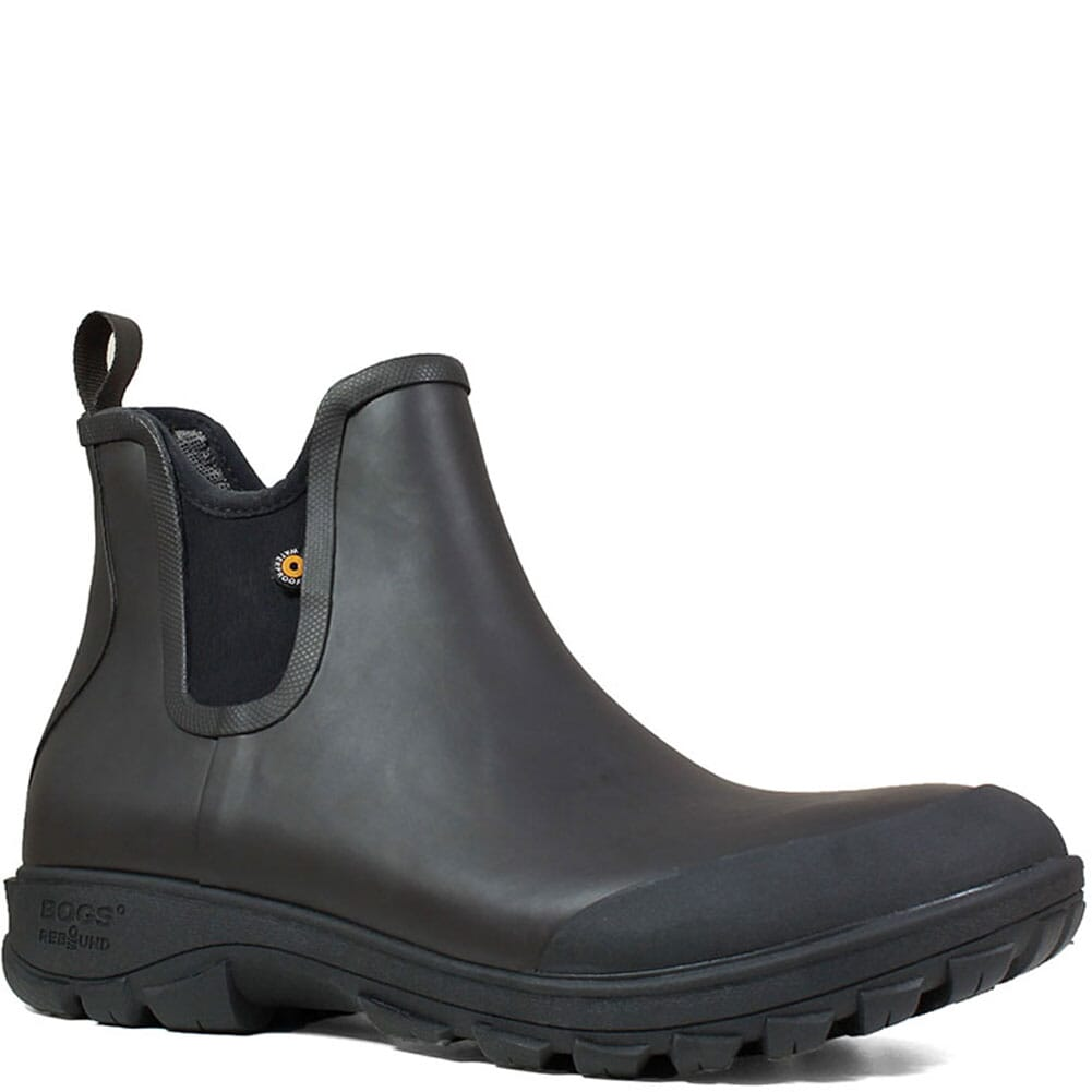 Image for Bogs Men's Sauvie Rubber Boots - Black from bootbay