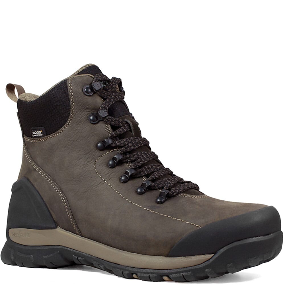 Image for Bogs Men's Foundation Mid WP Work Boots - Brown from bootbay