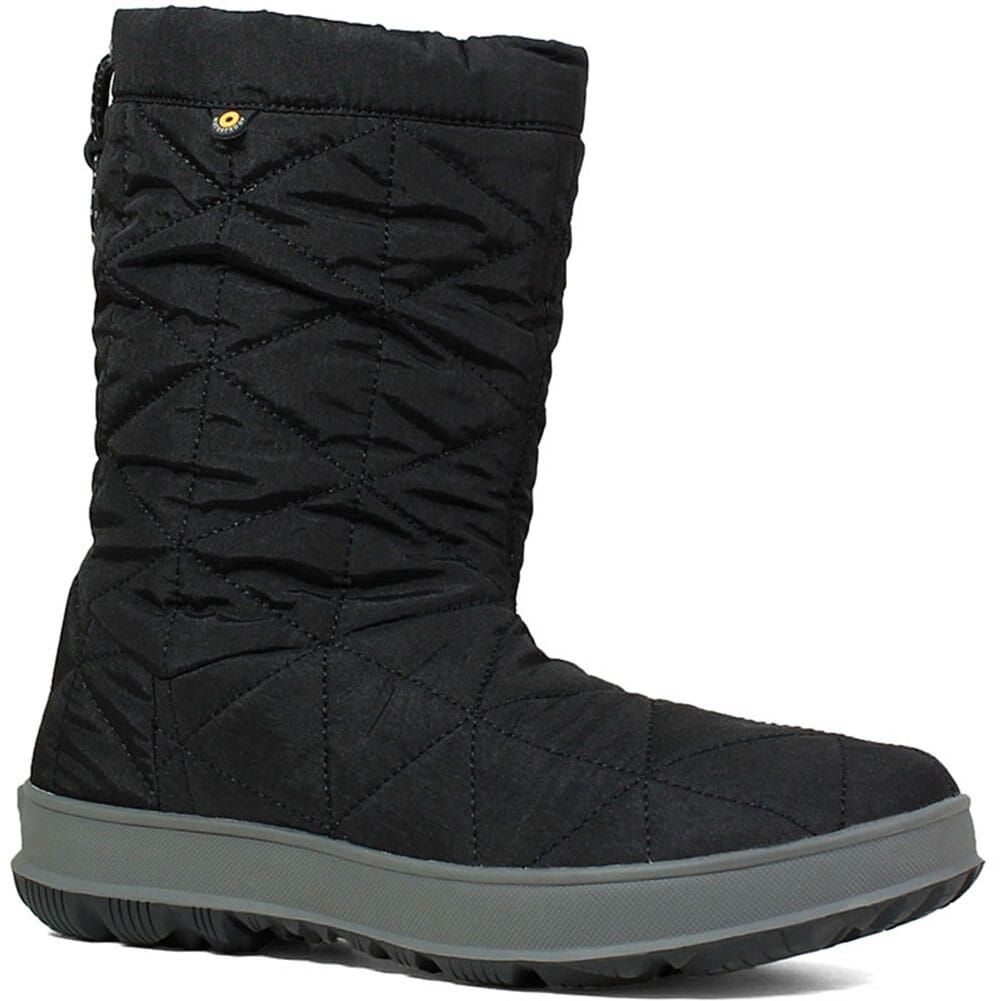 Image for Bogs Women's Snowday Mid Pac Boots - Black from elliottsboots