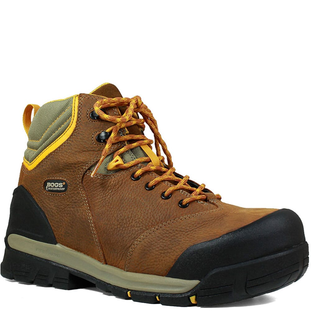 Image for Bogs Men's Bedrock Safety Boots - Brown from bootbay
