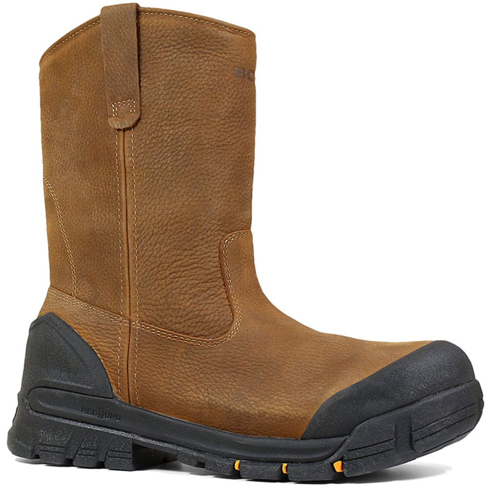 Image for Bogs Men's Bedrock WP Safety Boots - Brown from bootbay