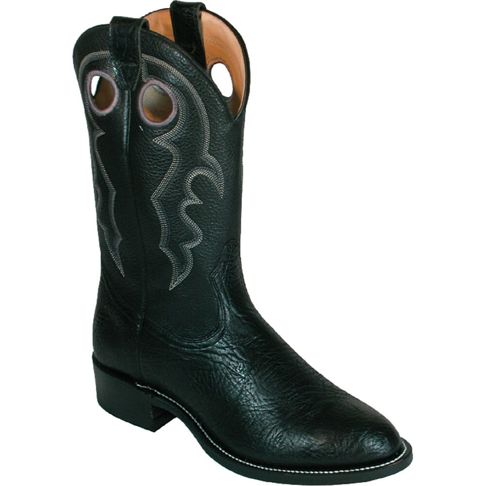 Image for Boulet Men's Sporty Western Roper Boots - Black from bootbay