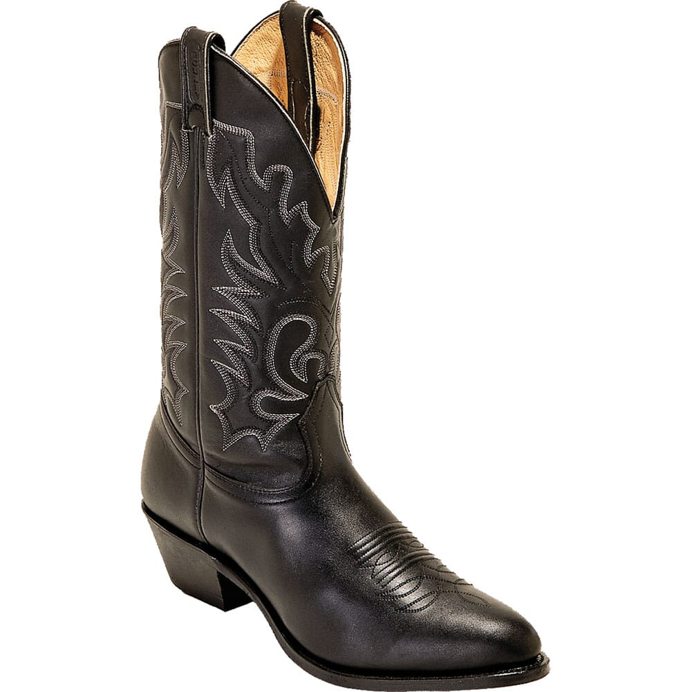 Image for Boulet Men's Sporty Western Boots - Black from bootbay