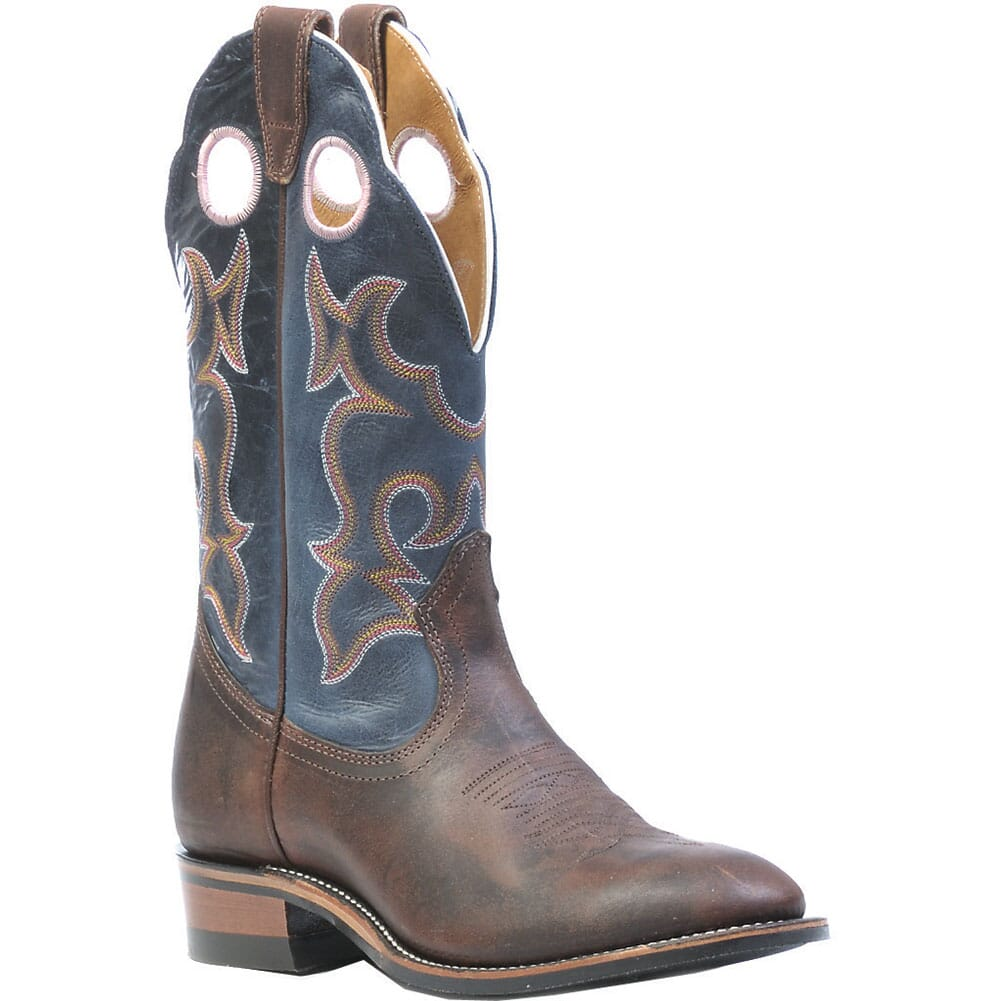 Image for Boulet Women's Super Roper Western Boots - Blue/Brown from elliottsboots