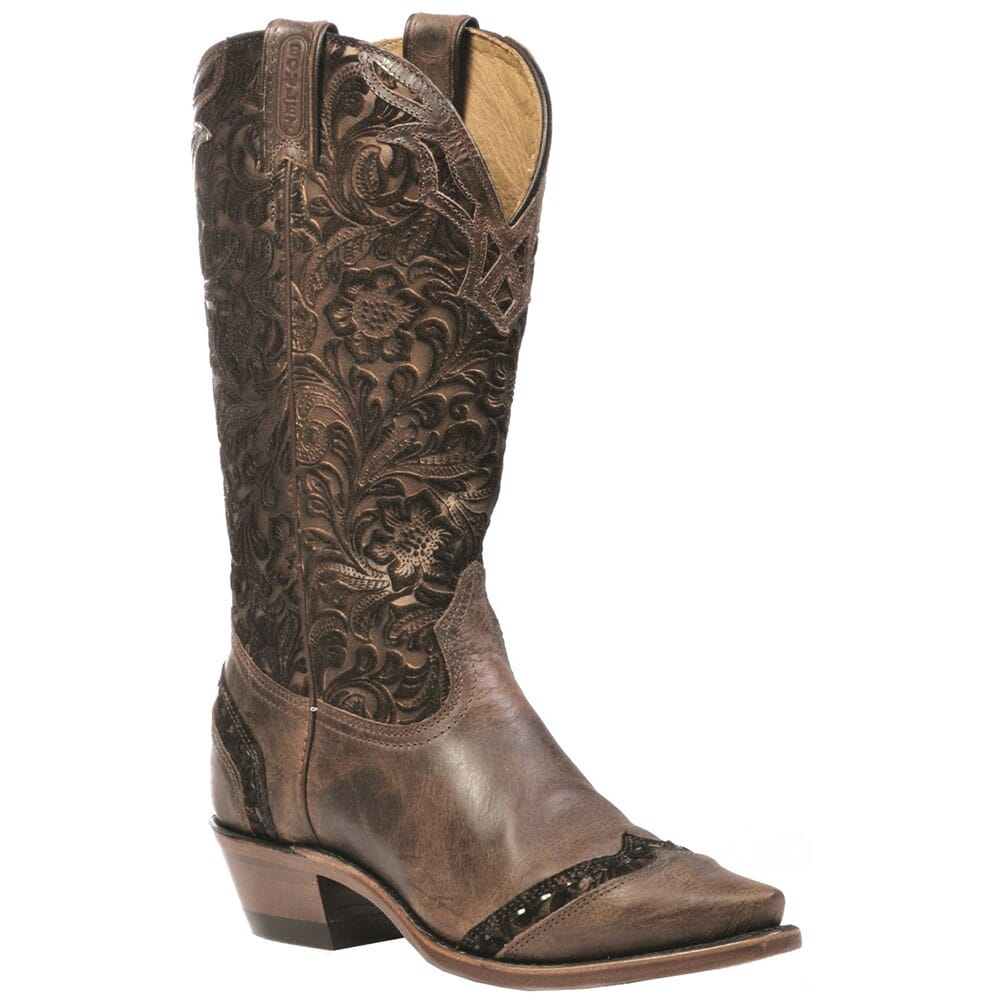 Image for Boulet Women's Veau Barocco Western Boots - Tobacco from bootbay