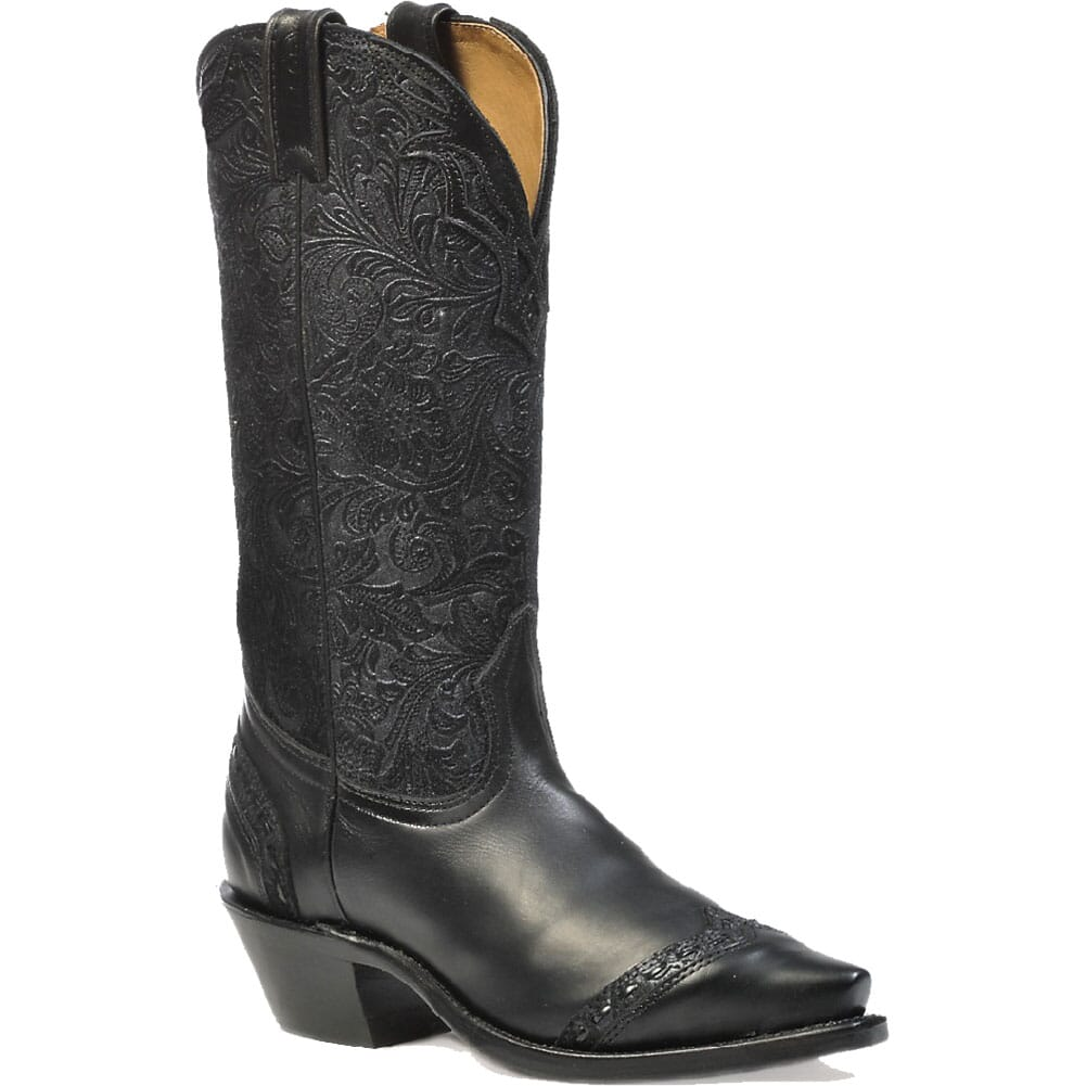 Image for Boulet Women's Snip Toe Western Boots - Barocco Blue from bootbay
