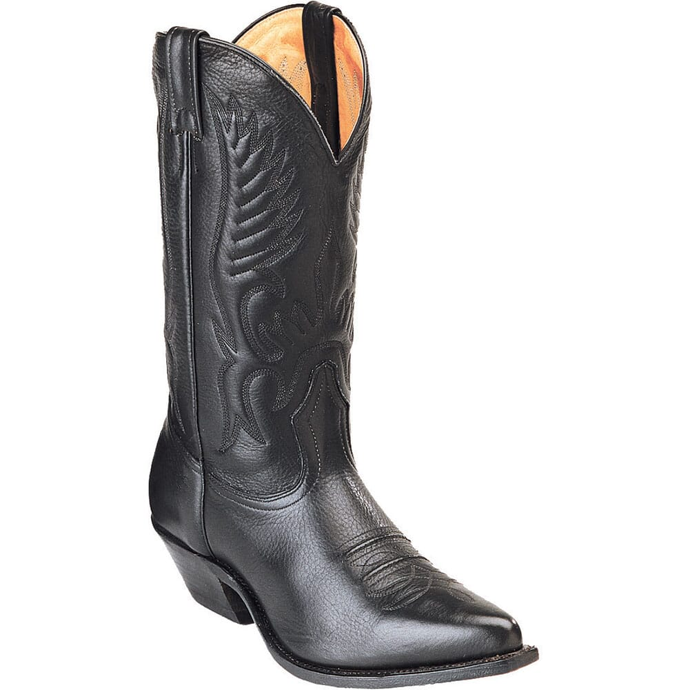 Image for Boulet Men's Cowboy Toe Western Boots - Sporty Black from bootbay