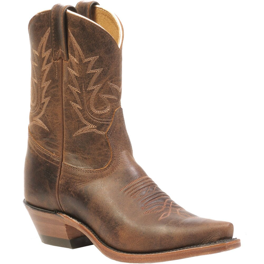 Image for Boulet Women's Snip Toe Western Boots - Selvaggio Wood from bootbay