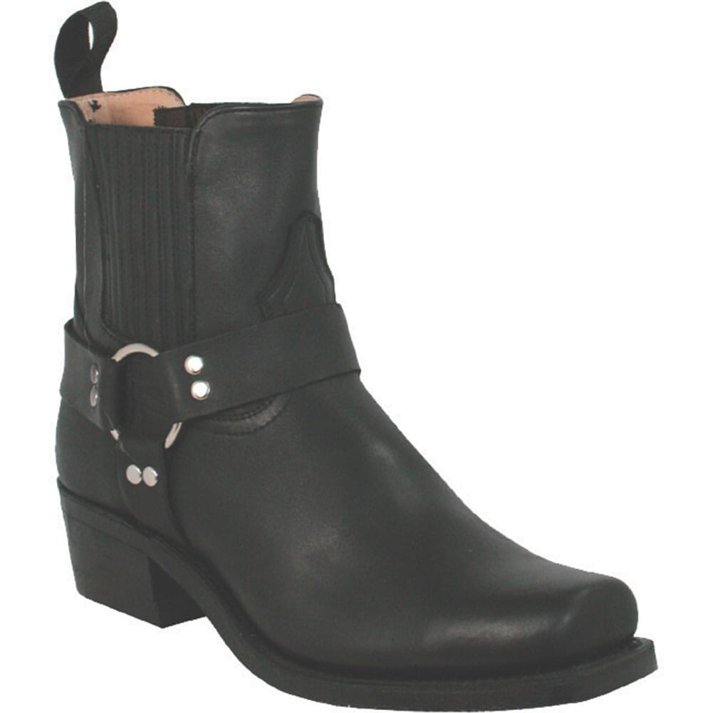 Image for Boulet Men's Broad Square Toe Motorcycle Boots - Black from bootbay