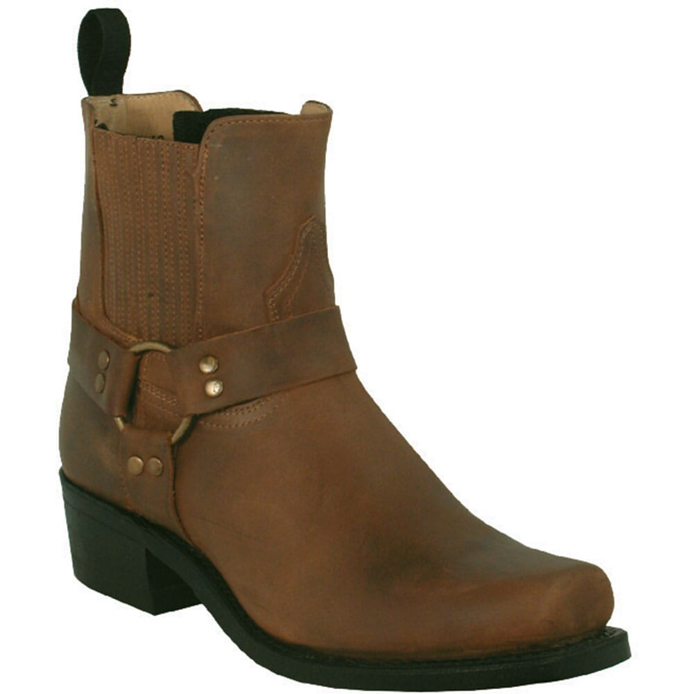 Image for Boulet Men's Broad Square Toe Motorcycle Boots - Hillbilly Golden from bootbay