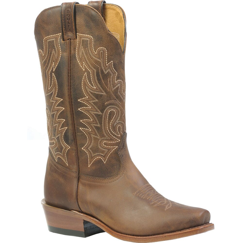 Image for Boulet Women's Cutter Toe 13in Western Boots - Selvaggio Wood from elliottsboots