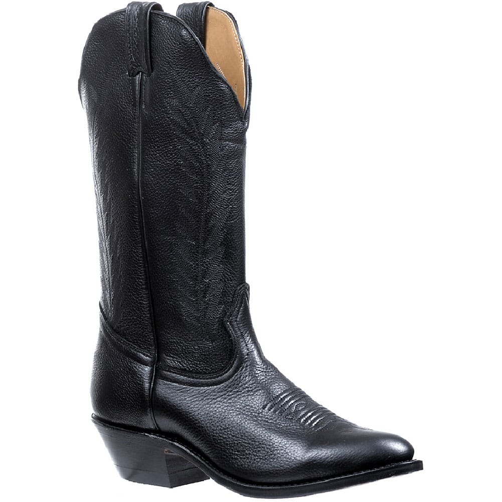 Image for Boulet Women's Sporty Deer Tan Western Boots - Black from bootbay
