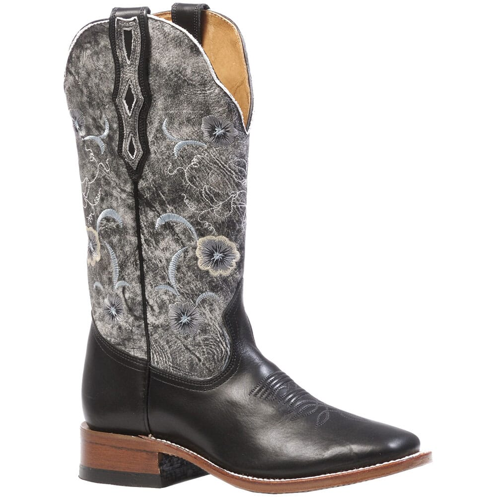 Image for Boulet Women's Torino Calf Western Boots - Black from elliottsboots