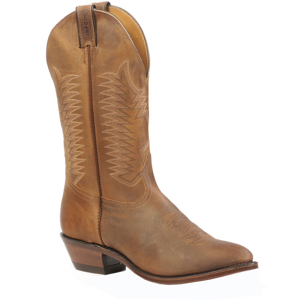 Image for Boulet Men's Cowboy Toe Western Boots - Hillbilly Golden from bootbay