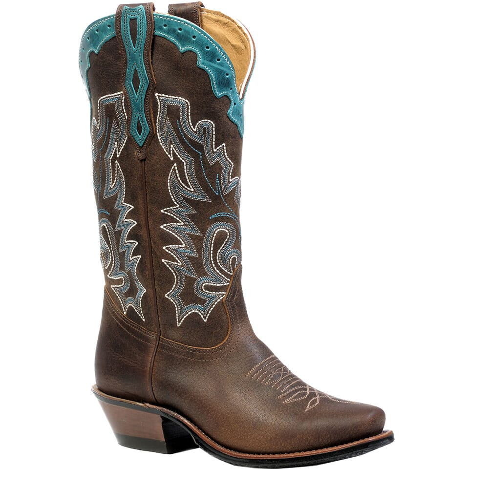 Image for Boulet Women's Cutter Toe Western Boots - Selvaggio Wood from elliottsboots