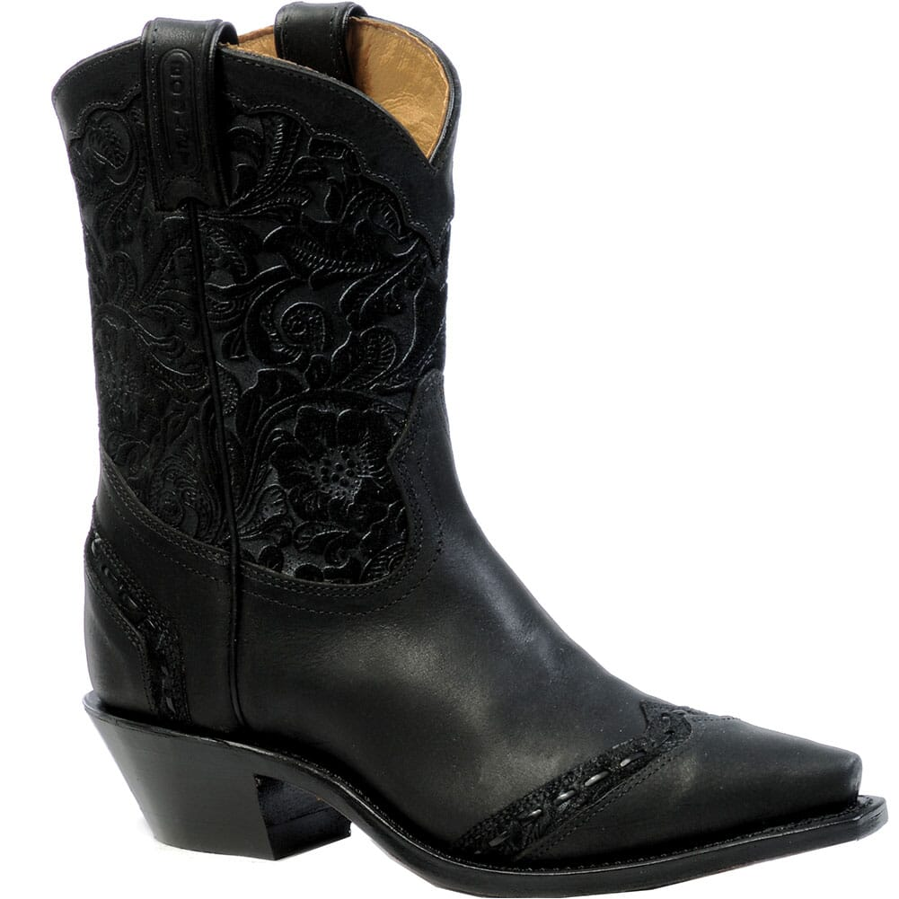Image for Boulet Women's Snip Toe Western Boots - Vintage Black from elliottsboots