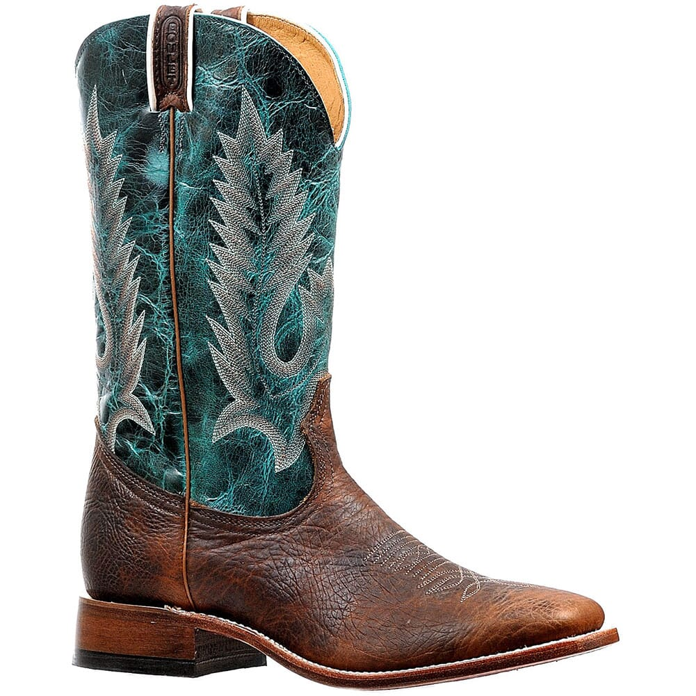 Image for Boulet Men's Wide Square Toe Western Boots - Faraon Turqueza from bootbay