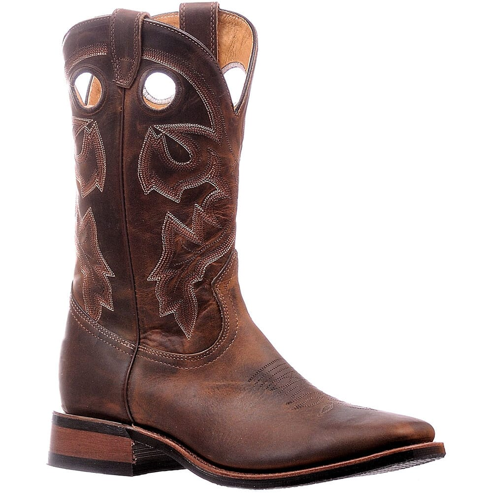 Image for Boulet Men's Horseman Heel Western Boots - Brown from bootbay