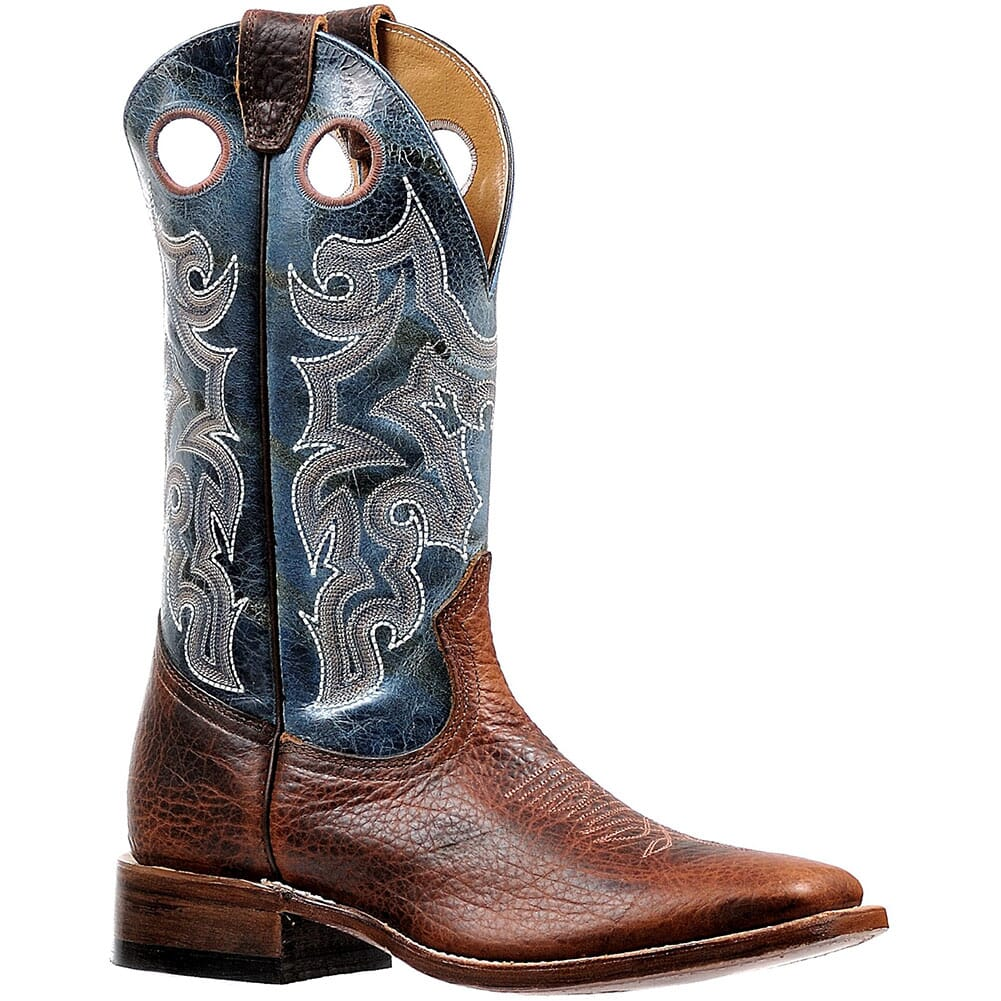 Image for Boulet Men's Bisonte Utta Western Boots - Whisky from bootbay