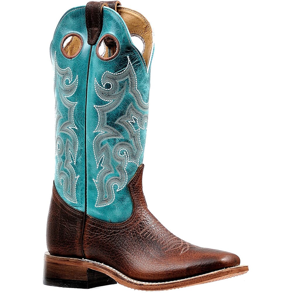 Image for Boulet Women's Bisonte Utta Western Boots - Whisky from bootbay