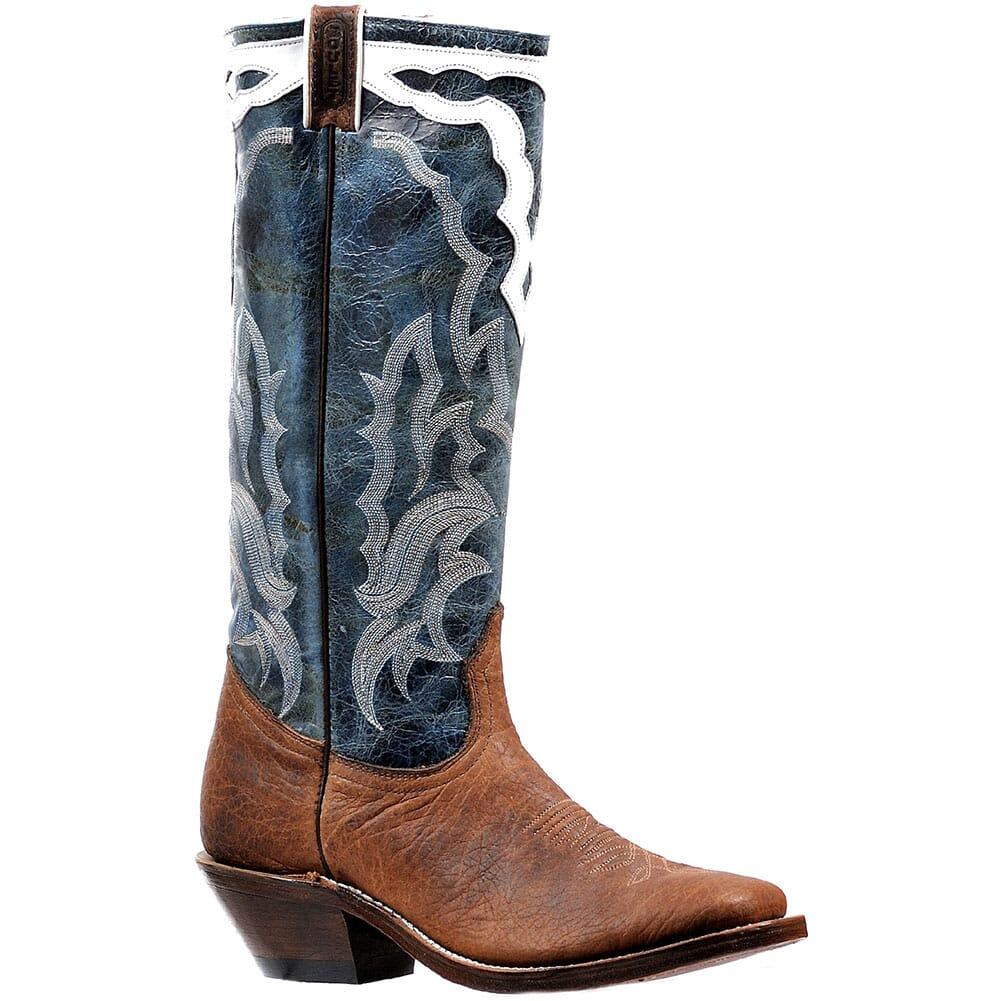 Image for Boulet Men's Buckaroo Western Boots - Puma Turqueza from bootbay