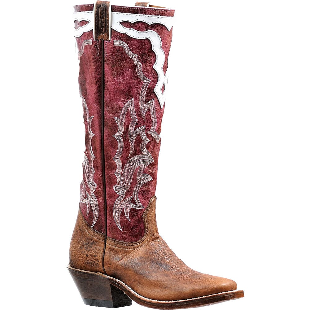 Image for Boulet Women's Vintage Western Boots - Faraon Magenta from elliottsboots
